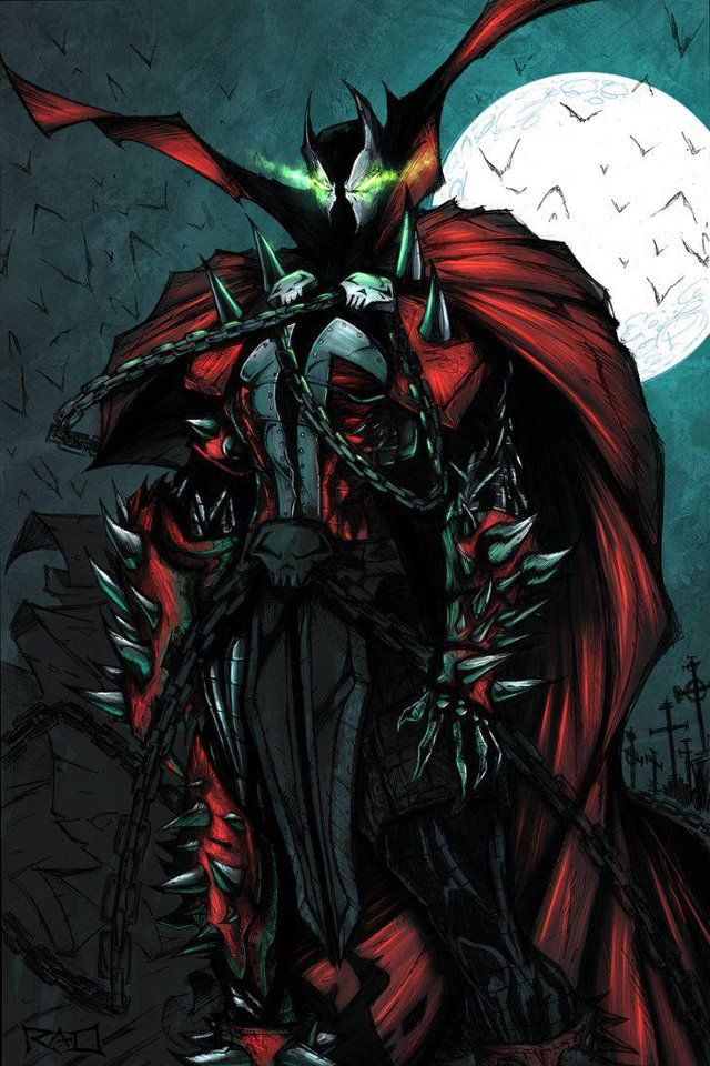 Spawn, Coolest Comic Book Character Ever!