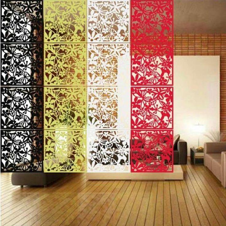 rideau s parateur de pi ce quatre couleurs. Black Bedroom Furniture Sets. Home Design Ideas
