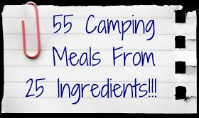 The Princess and the Jedi: 55 Camping Meal Ideas Using 25 ingredients