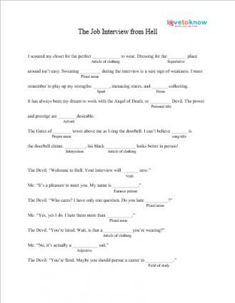 Unforgettable image inside free printable mad libs for middle school students