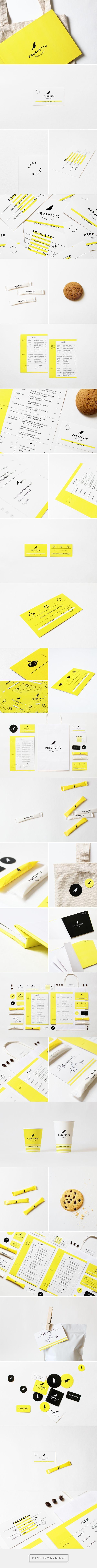 Prospetto Caffetteria Branding and Menu Design by Daria Stetsenko | Fivestar Branding Agency – Design and Branding Agency & Curated Inspiration Gallery