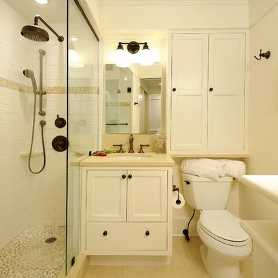 Traditional Bathroom Design Ideas, Pictures, Remodel and Decor SMALL BATHROOM