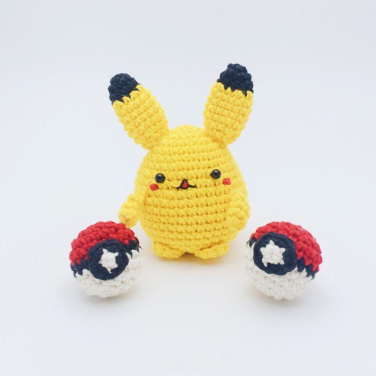 59 best Pokemon images on Pinterest | Amigurumi patterns, Crochet ...