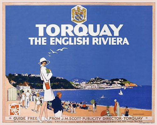 Torquay - The English Riviera. Artist: Sennett