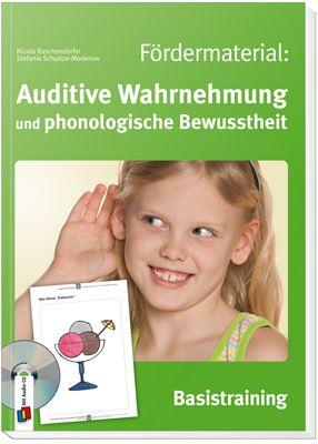 Fördermaterial: Auditive Wahrnehmung und phonologische Bewusstheit…
