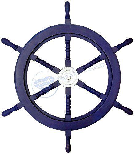 Nautical Handcrafted Wooden Ship Wheel - Home Wall Decor ... https://www.amazon.com/dp/B01DO73W5K/ref=cm_sw_r_pi_dp_x_D0oHybDF8KT7W