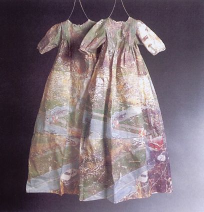 "Shelly Goldsmith ~ ""Fragmented Baptism"" (2003) via Interview with Shelly Goldsmith, Textiles Artist - Victoria and Albert Museum"