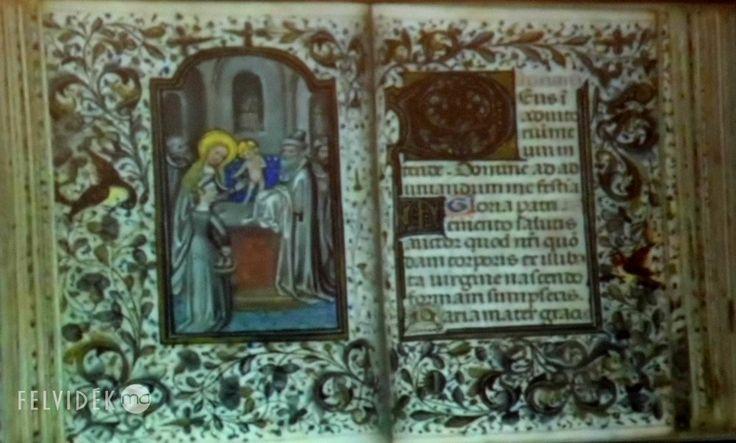 A betléri kastélyban bemutatták Andrássy Ilona megtalált Hóráskönyvét