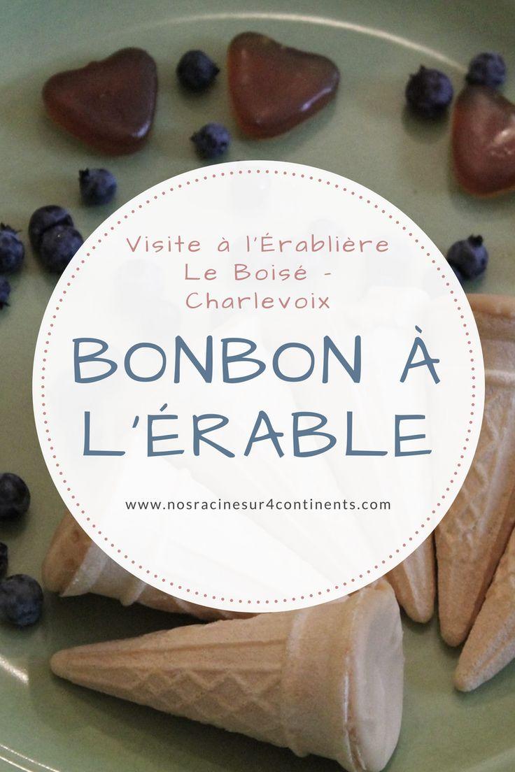 Découverte de l'érablière Le Boisé, dans la région de #Charlevoix #Érablière #Québec #Bonbon