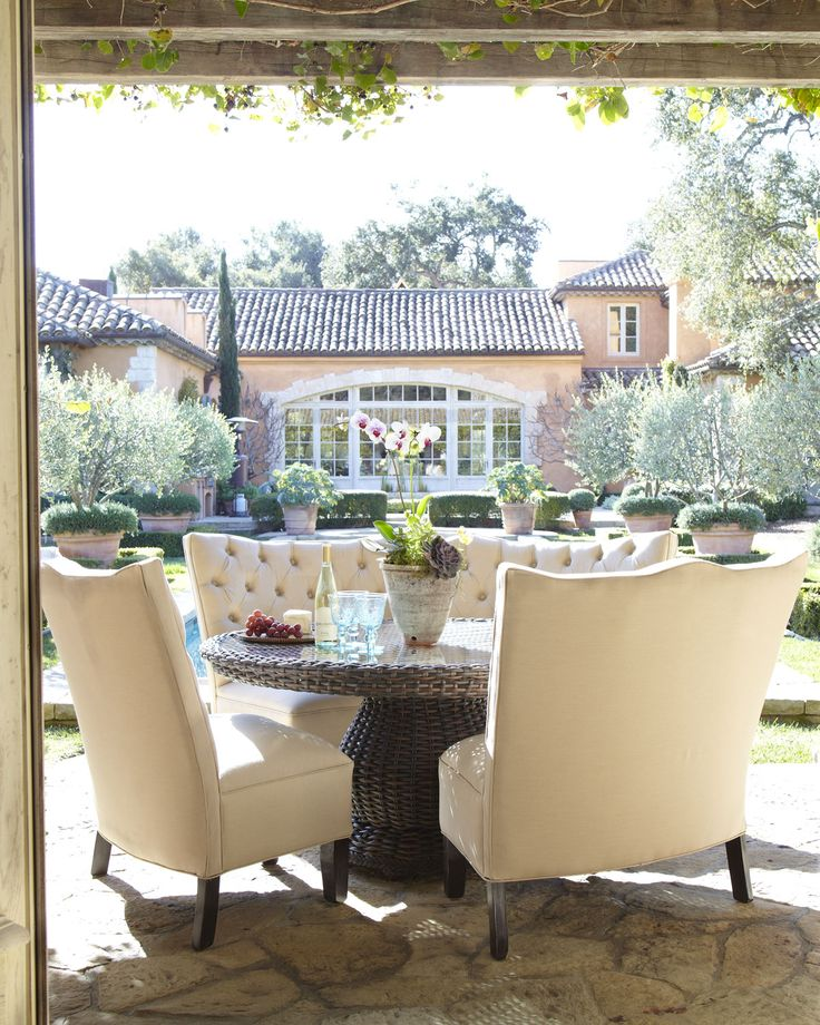 Patio Furniture, Outdoor Furniture & Outdoor Patio Furniture | Horchow