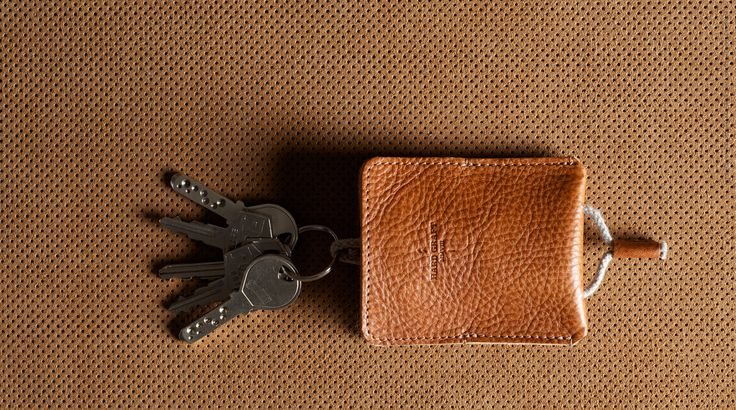 Key holder on Pinterest | Leather Keychain, Leather Key and Key Fobs