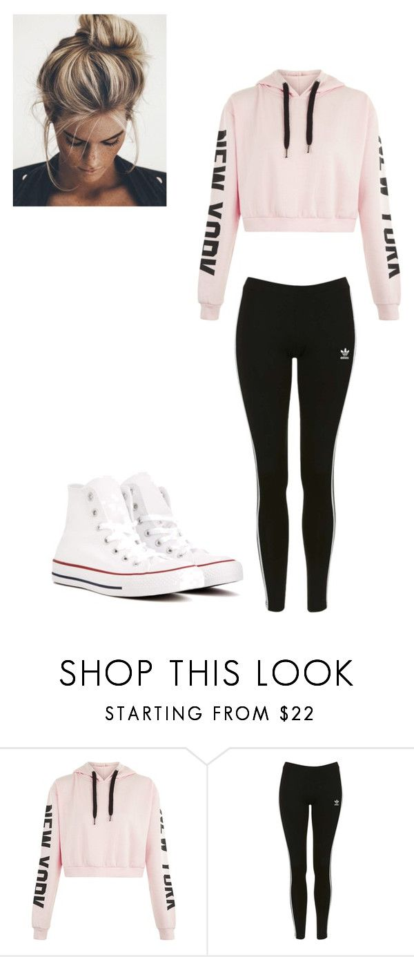 """""""New York"""" by lola2bravo on Polyvore featuring Topshop and Converse"""