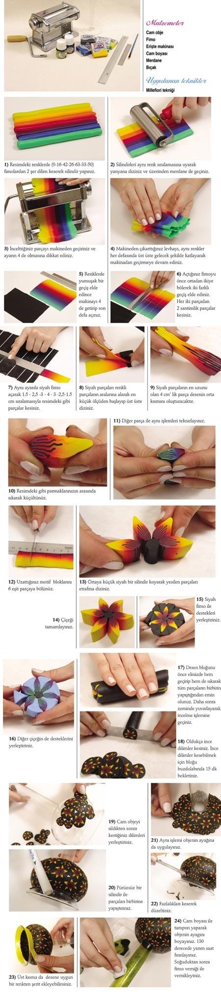 Polymer clay photo tutorials
