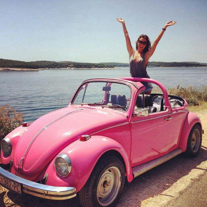 Vw Beetle Classic Car: Best 25+ Pink Beetle Ideas On Pinterest