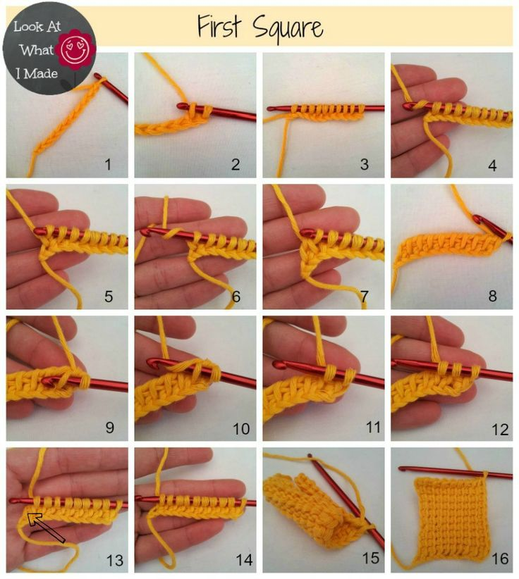 Beginner Crochet Patterns Step By Step : 1000+ ideas about Tunisian Crochet Blanket on Pinterest ...