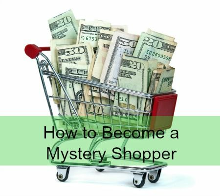 Tips on becoming a mystery shopper, how to find mystery shop companies, how much you'll get paid for mystery shopping and more! #sidehustle #mysteryshopping #extraincome