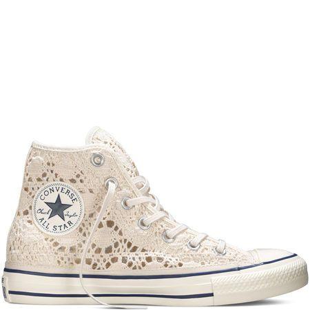 c9af4953d547 Converse - Chuck Taylor All Star Crochet - Parchment - Hi Top ...