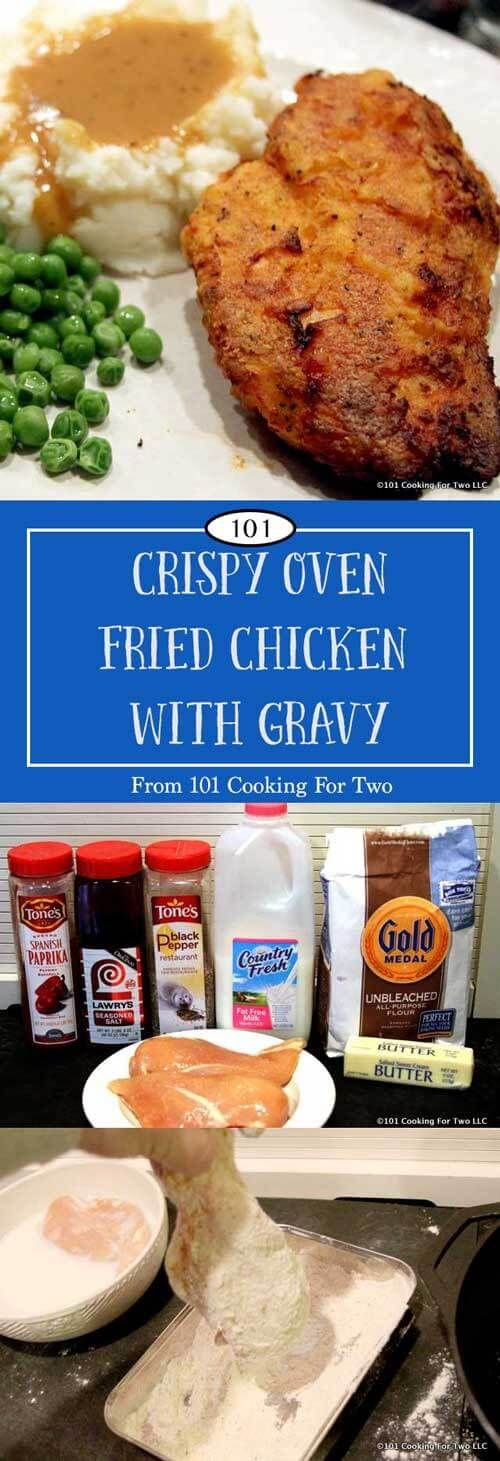 This is the best oven fried chicken you will ever make. Get great fried chicken taste with this easy oven recipe.  via @drdan101cft