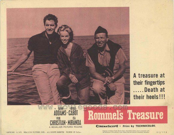 Paul Hubschmid Dawn Addams - Rommel's Treasure
