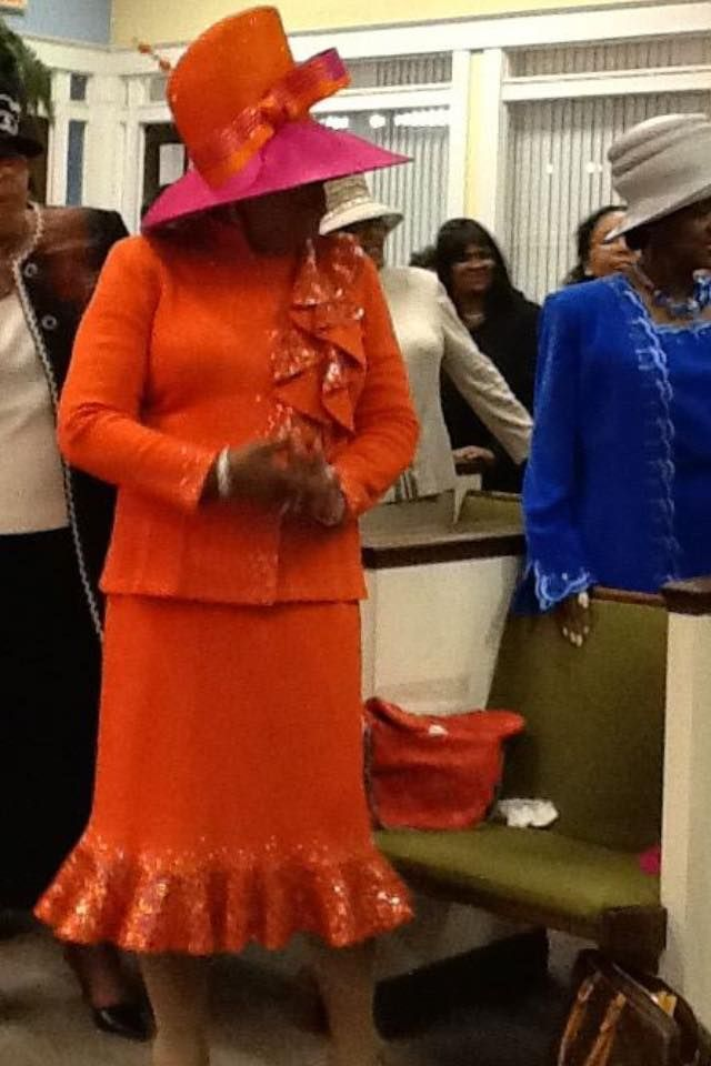 Mother Mary L. Tucker in Louise D.Patterson Couture by Joyce Richardson