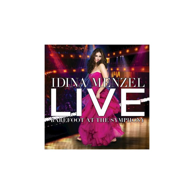 Idina menzel - Live:Barefoot at the symphony (CD)