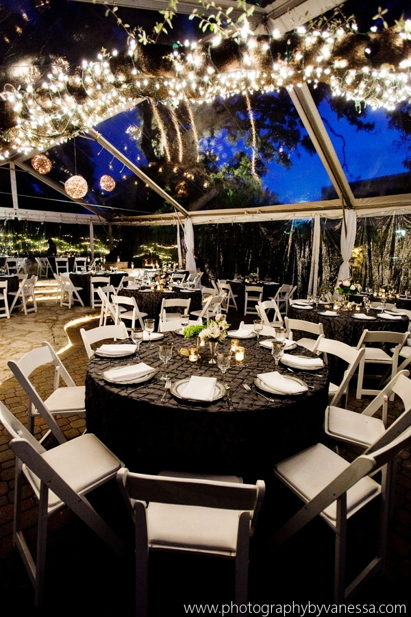 wedding tent lighting ideas. beautiful nighttime wedding in an outdoor clear top tent rentals provided by austin lighting ideas h