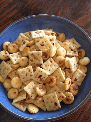 "Another Marvelous Meal: Spicy ""Firecracker"" Cocktail Crackers"