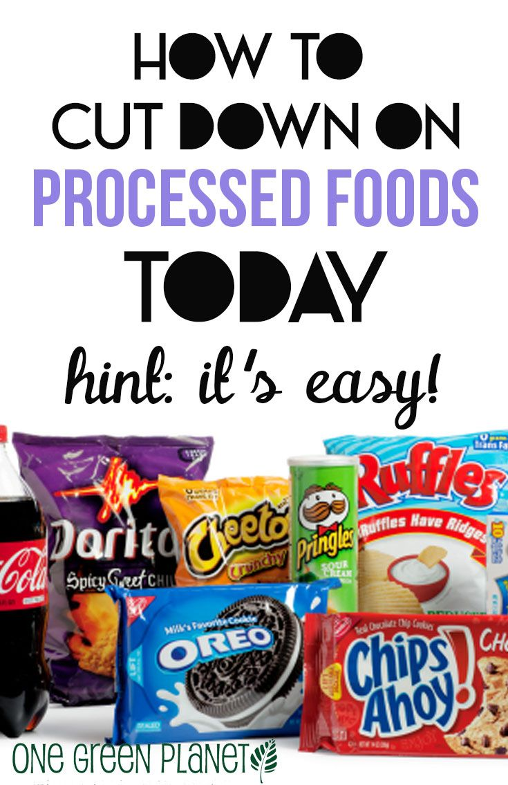 How to Cut Down on Processed Foods This Summer (And Always!) http://onegr.pl/1pIMtLR #eatclean #vegan