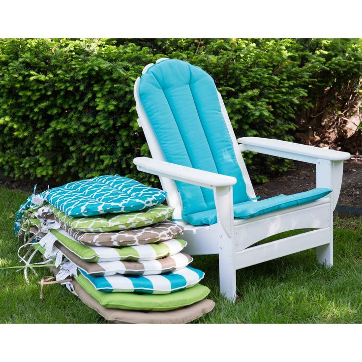 adirondack chair cushions sunbrella target seat cushion sale outdoor