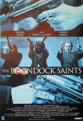 Boondock Saints US Promo Huge PAPER Movie Poster Measures 40 x 27 Inches (100 x 70 cm ) approx @ niftywarehouse.com #NiftyWarehouse #BoondockSaints #NormanReedus #Film #Movies #CultMovies #CultFilms
