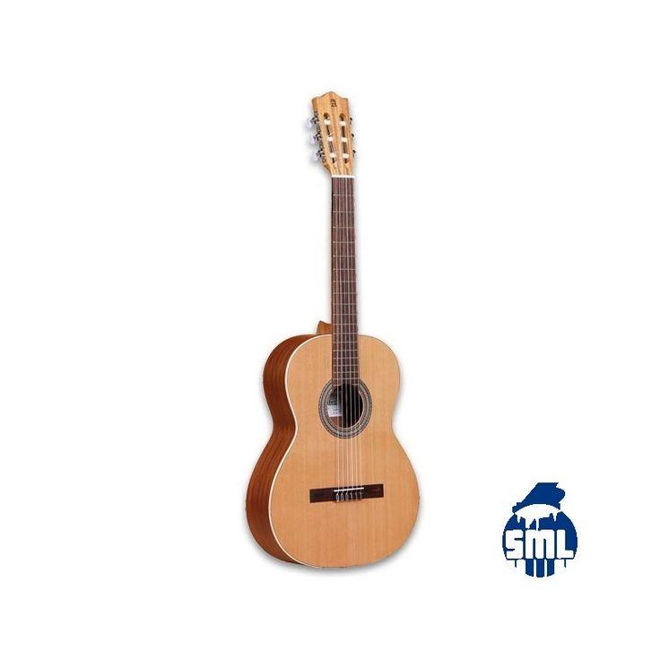 A guitarra Alhambra Z-Nature é uma guitarra para estudantes de muito boa qualidade e preço acessível. Tem um designsimples e acabamento com poro aberto, permitindo um som com um grande ressonância.