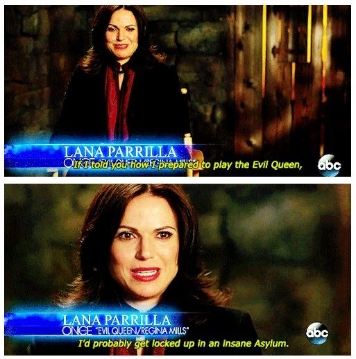 This would freak me out if it was anybody but Lana #SecretsOfStorybrooke