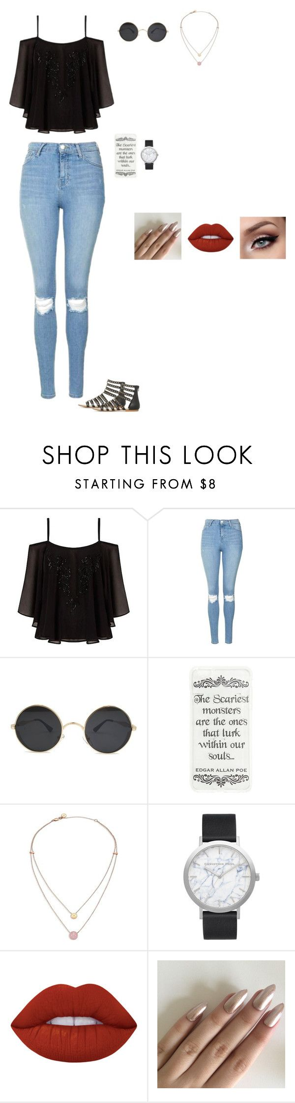 Untitled #150 by sing-into-life on Polyvore featuring Lipsy, Topshop, Elwood, Michael Kors and Lime Crime