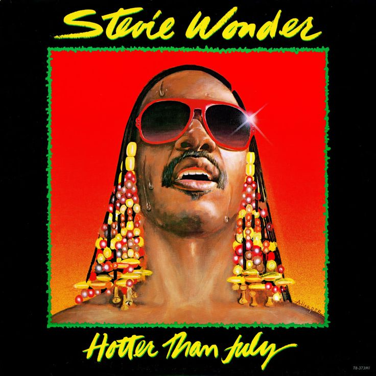 Stevie Wonder - Hotter Than July originally released on Motown's Tamla label on September 29, 1980