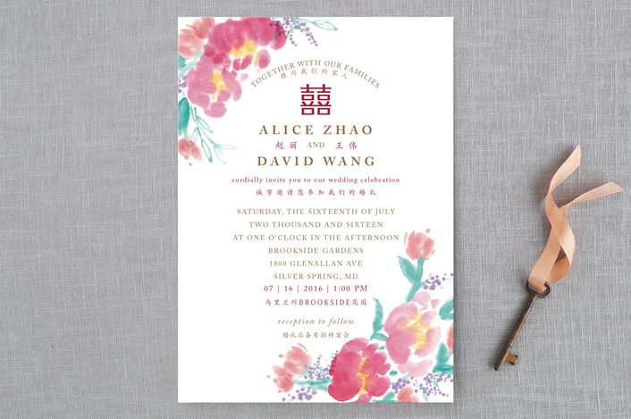 DIY Printable Editable Chinese Wedding Invitation Card Template - fresh invitation unveiling of tombstone