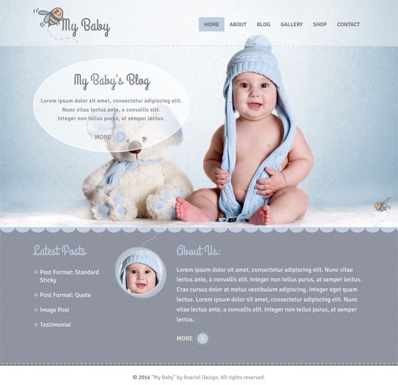 This WordPress theme for kids features a responsive layout, WooCommerce integration, a premium slider pack, child theme support, support for...