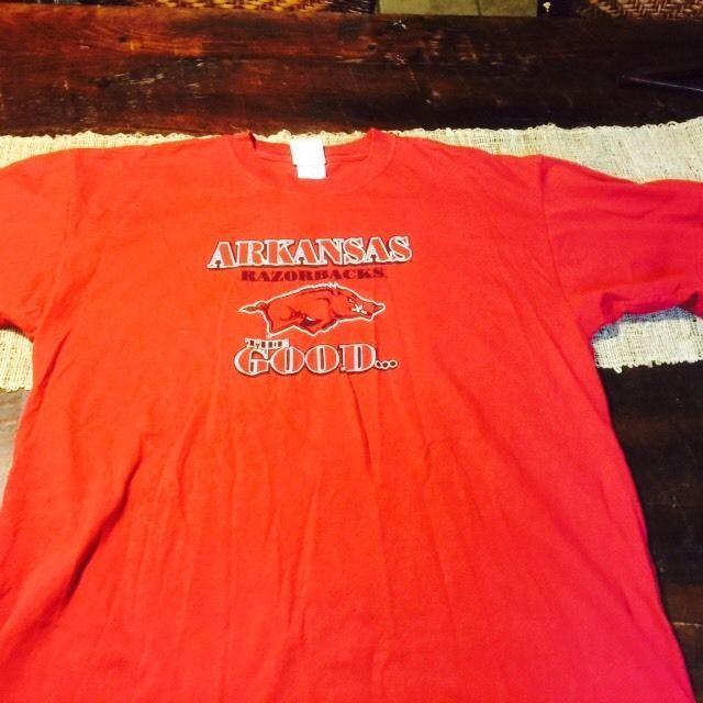Arkansas Razorbacks Cardinal The Good The Bad The Ugly T-shirt Sz XL #ArkansasRazorbacks