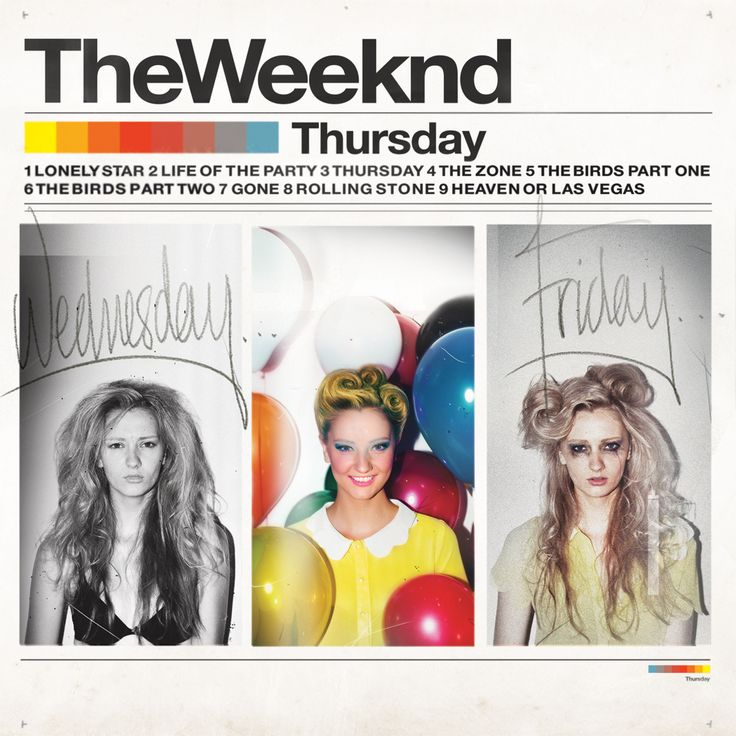 "The Weeknd ""Thursday"" (2011)"
