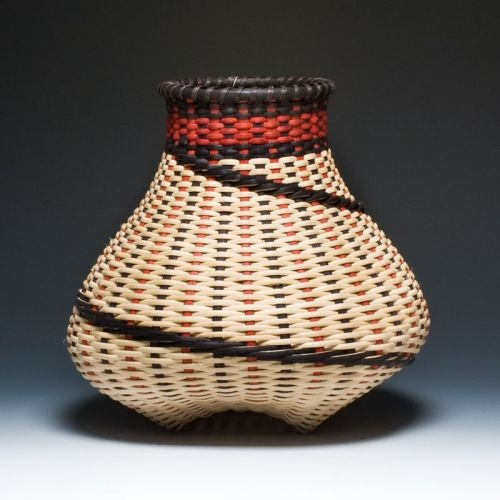 cat's head basket by Billie Ruth Sudduth