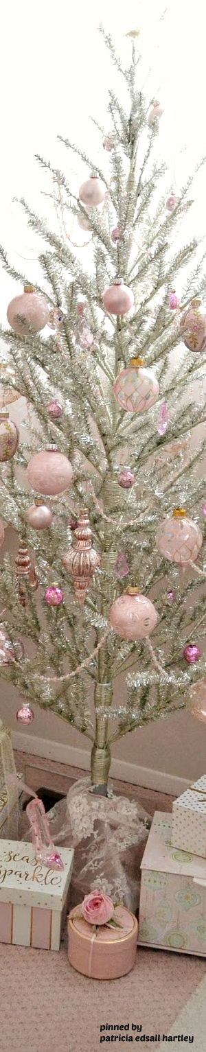 Pink and tree is wonderful year!