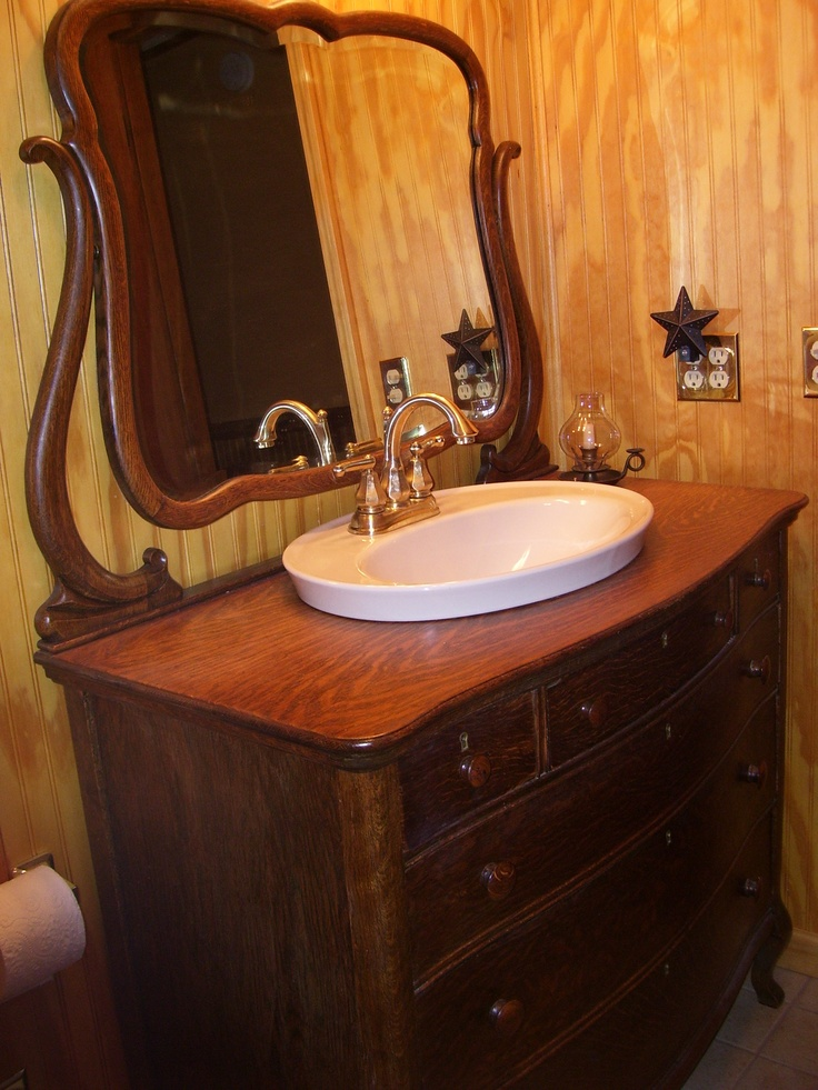 38 Best Antique Bathroom Vanities Images On Pinterest