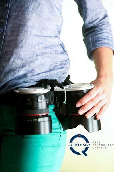 The Quickdraw is an Innovative Lens Holster that Ensures Your Glass is Always Within Reach