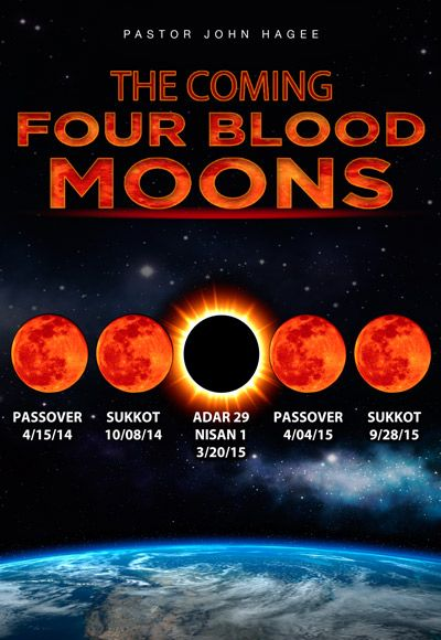 The Coming Four Blood Moons - Part 1 | Blood moon, John ...