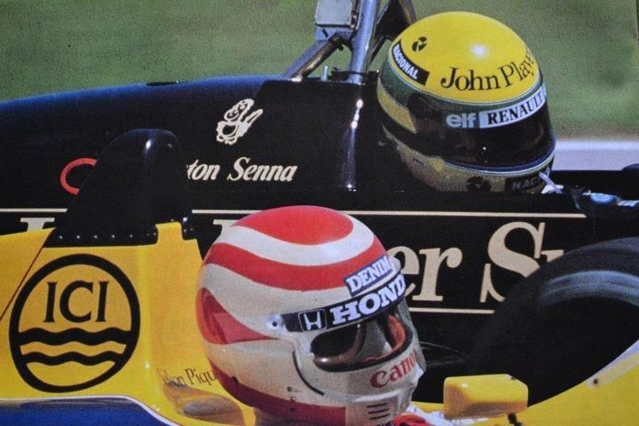 1986- Senna e Piquet GP da Hungria-???                                                                                                                                                                                 Mais