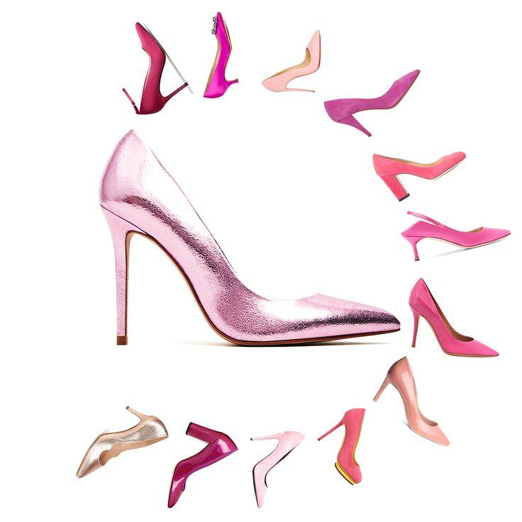 Escarpin rose : 25 escarpins rose à oser sans tarder  - Elle