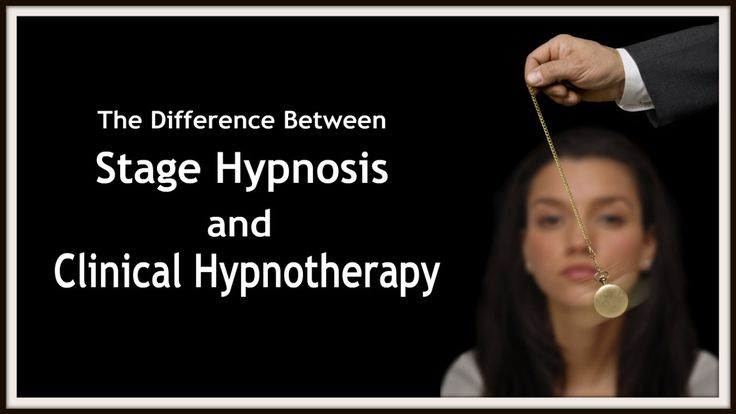HYPNOSIS EXPLAINED: The Difference Between Stage and Clinical Hypnosis #hypnosis #truth #fact