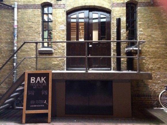 Bak Restaurant Amsterdam