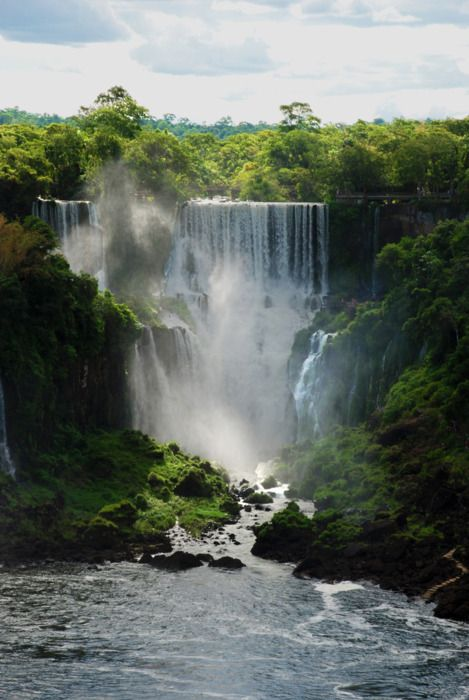 Iguazu Falls | The crossroad of three countries of South America, Brazil, Argentina and Paraguay so, in terms of passport stamps, we're talking about 3 in1