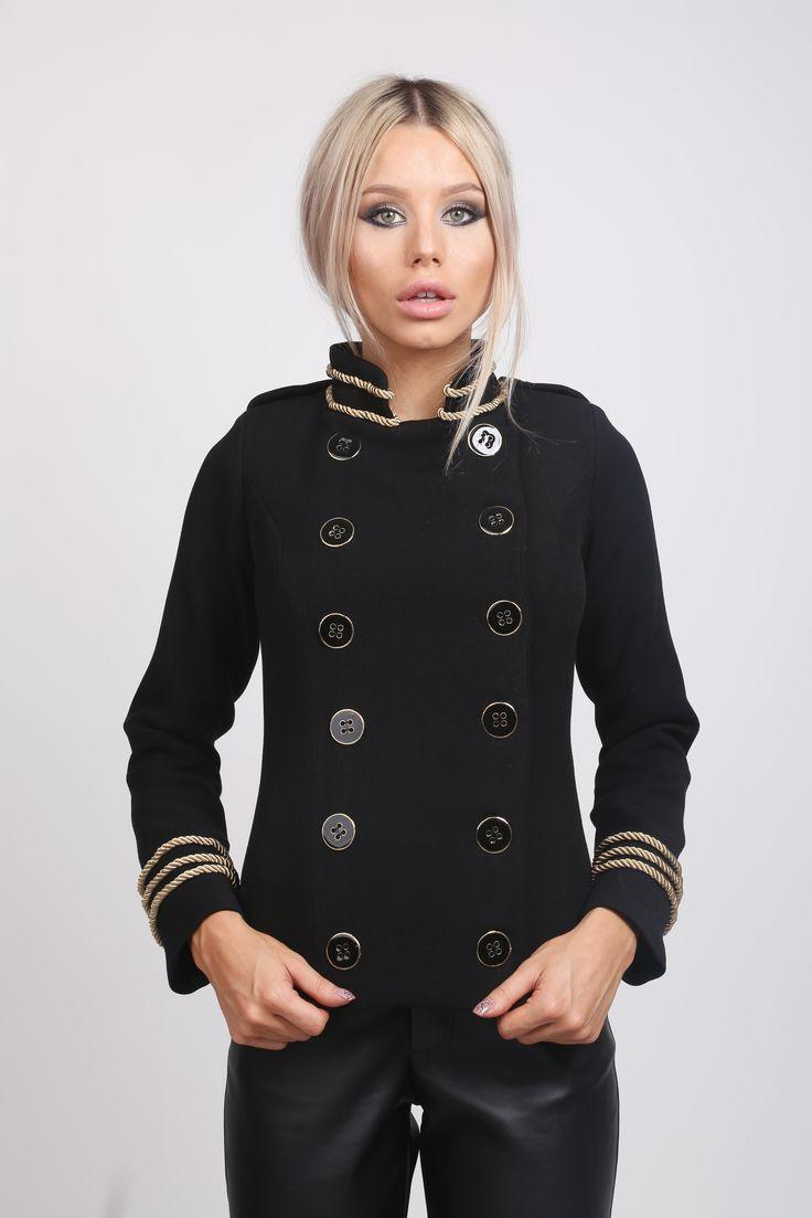 Russian Jacket! www.noire.ro