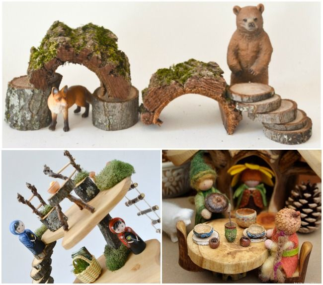 25 DIY toys from Nature: a collection of inspiring ideas for handmade toys you can build for kids from natural materials
